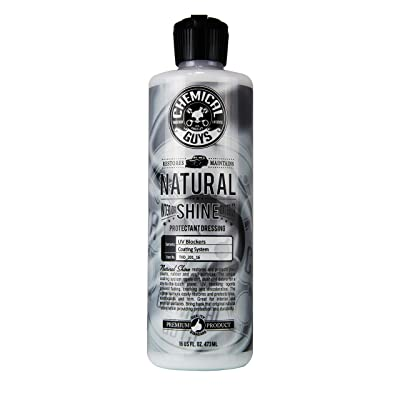 Chemical Guys TVD_201_16 - Natural Shine, Satin Shine Dressing for Plastic, Rubber and Vinyl (16 oz): Automotive