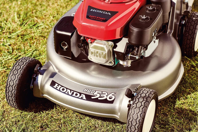 HRH 536 HXE Honda Cortacéspedes profesional: Amazon.es ...
