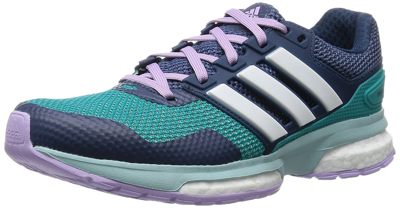 Adidas Damen Response Boost 2 Laufschuhe grau