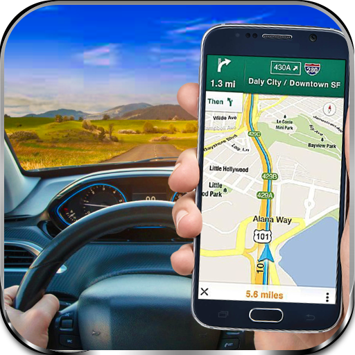 Gps Navigation Maps  Tracker  Driving Directions