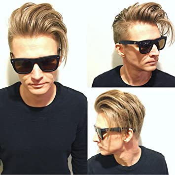 Dreambeauty Hairpieces for Men Human Hair 10×8 inch Men s Toupee Thin Skin  Hair Replacement 3a2371359