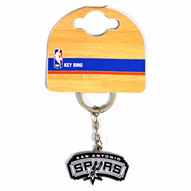 San Antonio Spurs Official NBA - Llavero de metal con escudo ...