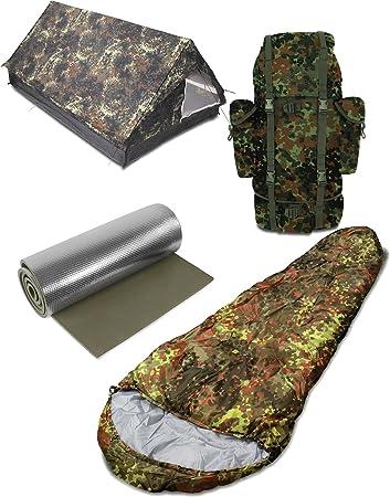 Camping Outdoor Armee Trekking Biwak BW MUMIEN Schlafsack 1 Personen