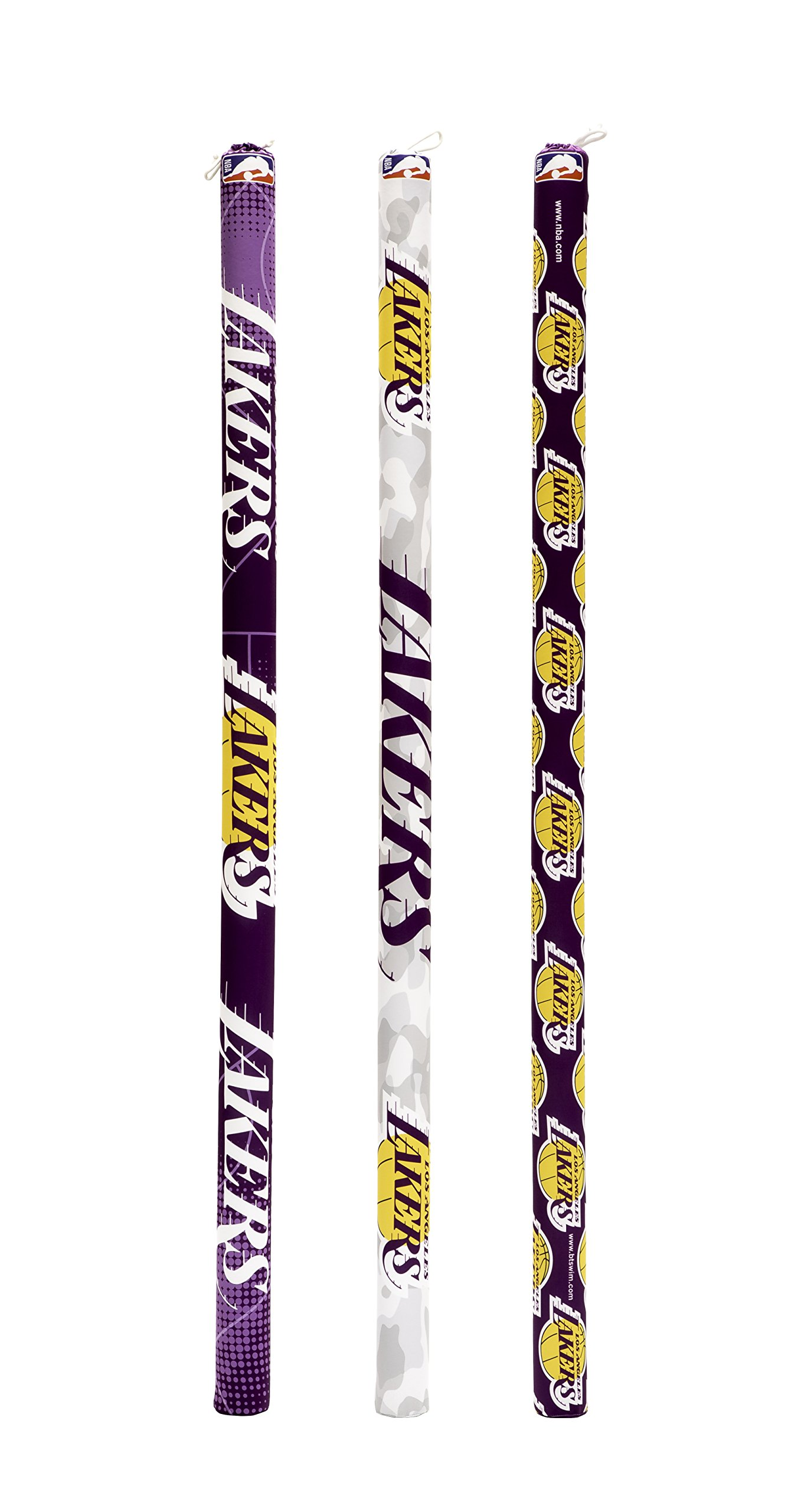 Btswim NBA Los Angeles Lakers Pool Noodles (Pack of 3) by BTswim