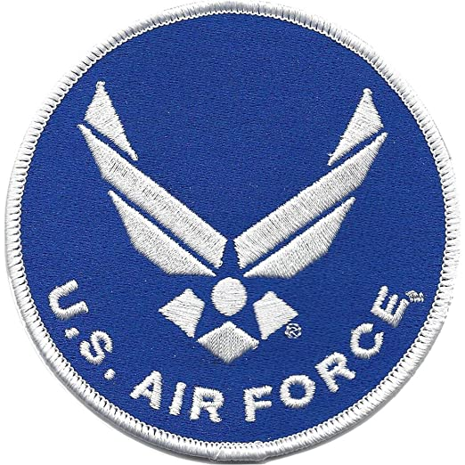 bf120fb261828 United States Air Force Wings Emblem Patch