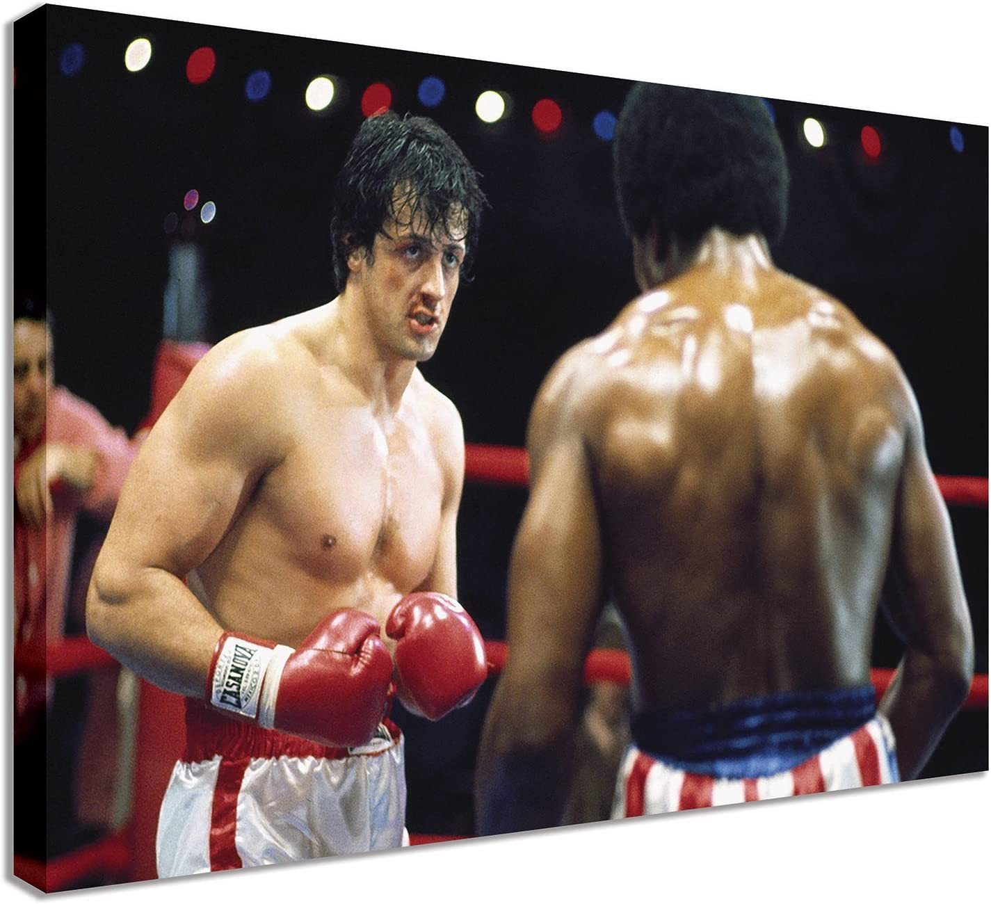 ROCKY BALBOA FOUR PANELS CANVAS PRINT PICTURE WALL ART FREE FAST UK DELIVERY