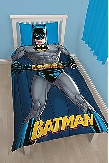 DC Comics Character World Batman DC Shadow Single Panel Duvet Set