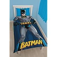 DC Comics Batman infantil/niños oficial sombra edredón Reversible individual