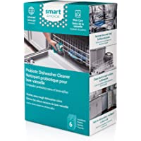 Smart Choice 10SCPROD02 Probiotic Dishwasher Cleaner, Six Pack, 6 Treatments