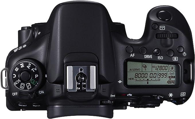 Canon EOS 70 D - Cámara réflex Digital de 20.2 MP (Pantalla 3 ...