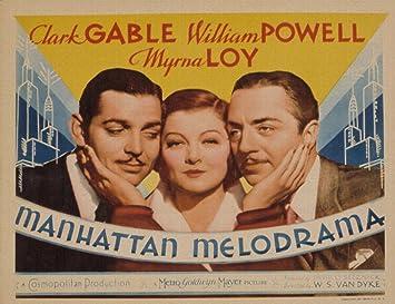 Image result for manhattan melodrama poster