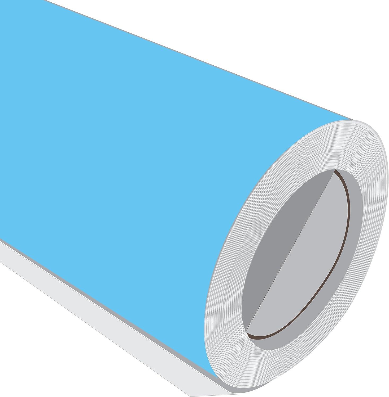 2 Metre (2 m) rollo de HD Arctic azul brillante 610 mm de ancho Vinilo autoadhesivo: Amazon.es: Hogar