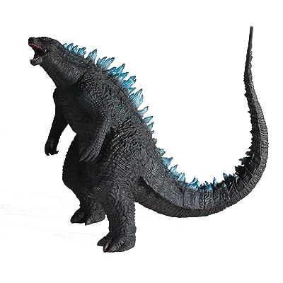 "X-PLUS Godzilla 12"" Series: Godzilla 2014 Blue Dorsal Version Action Figure: X-Plus: Toys & Games"