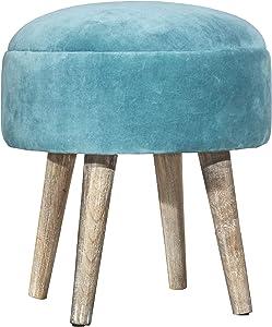 Hillsdale FurnitureVanity Stool, Teal