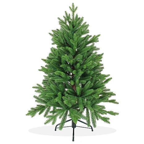 Künstlicher Tannenbaum Nordmanntanne.Künstlicher Weihnachtsbaum 120cm In Premium Spritzguss Qualität Grüne Nordmanntanne Tannenbaum Mit Pe Kunststoff Nadeln Nordmannstanne