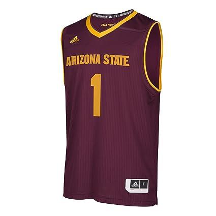 a5fa9a05629f adidas NCAA Arizona State Sun Devils Mens Replica Basketball Jerseyreplica Basketball  Jersey
