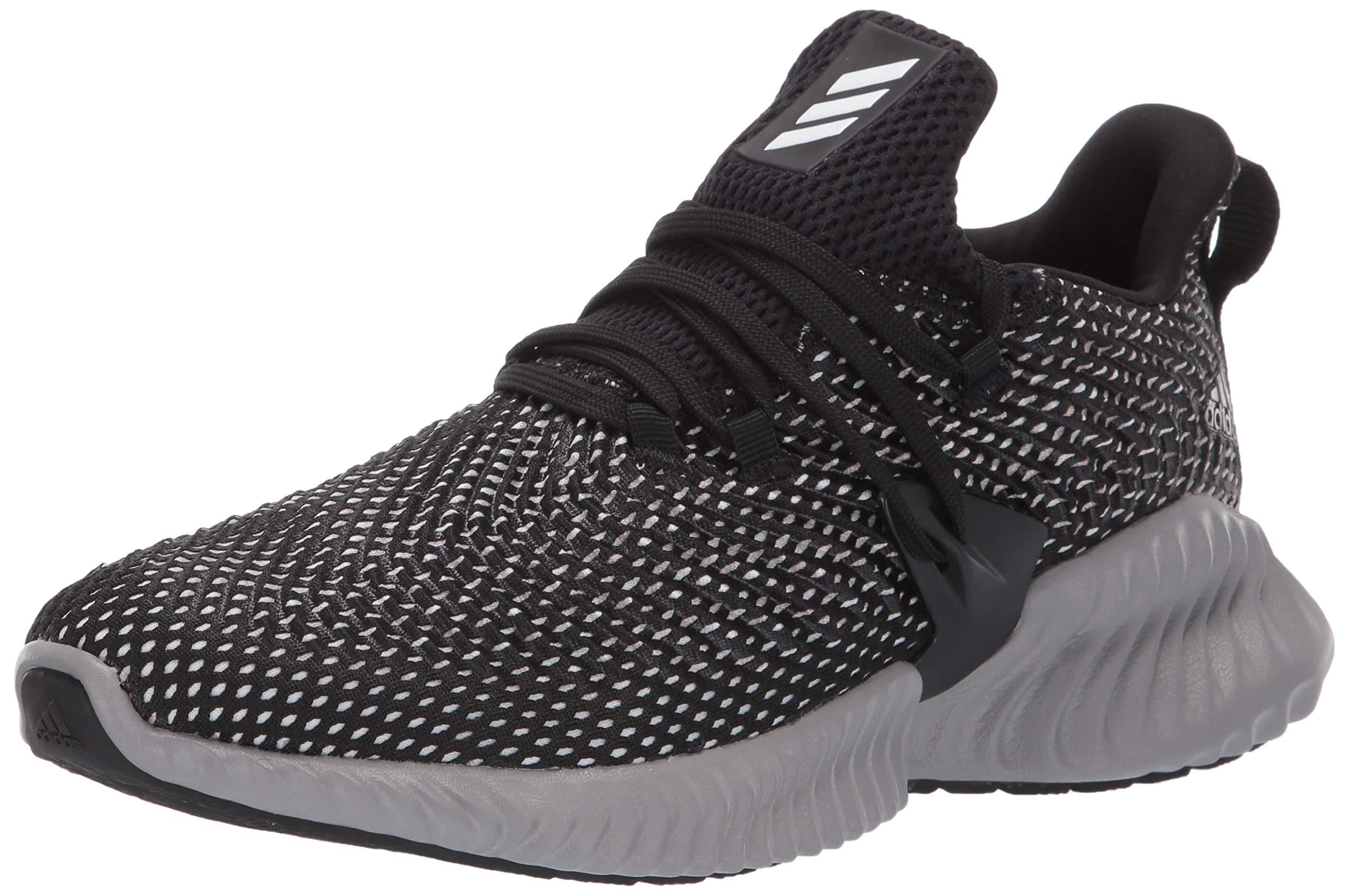 Adidas Kids Alphabounce Instinct, Black/White/Grey, 1 M US Little Kid by adidas (Image #1)