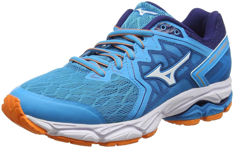 Mizuno Wave Ultima 10, Zapatillas de Running para Mujer 36.5 EU|Azul (Hawaiianocean/White/Birdofparadise 01)