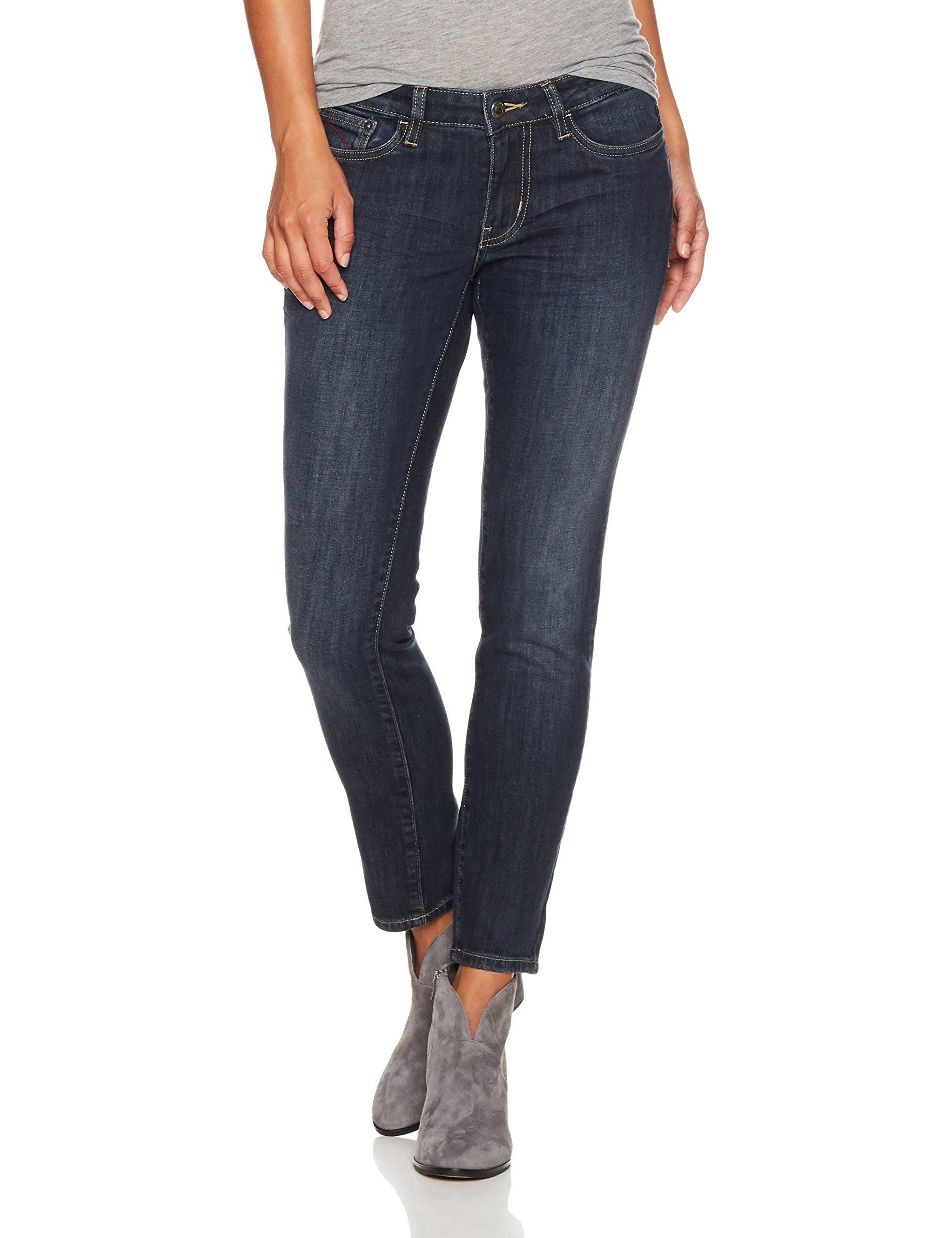 Mountain Khakis Women's Genevieve Skinny Jean Classic Fit, Dark Wash, 12 Regular