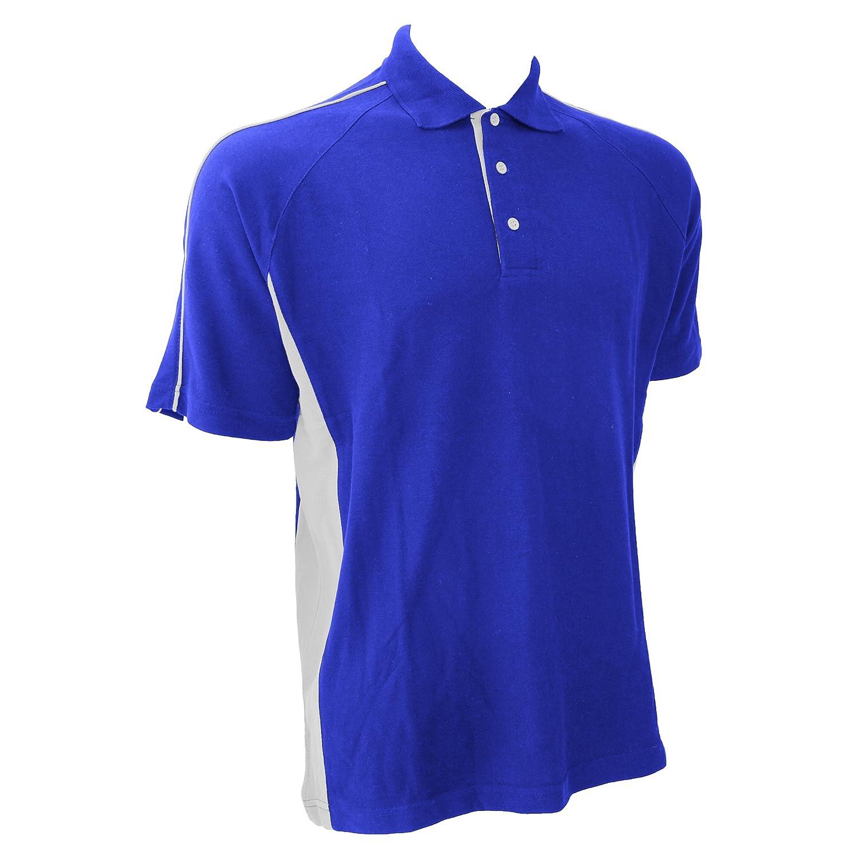 Finden & Hales - Polo deportivo 100% algodón - Hombre, Blu reale ...