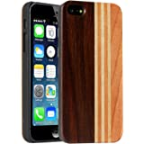 DMG Real Natural Wooden Premium Back Cover for Apple iPhone SE, iPhone 5s, iPhone 5 (Wood Grain)