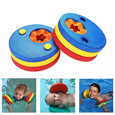 Messar Kids Arm Float Discs, Swim Arm Brand Set Swimming Armbands Training Equipment for Pool (6 pcs/Set): Toys & Games
