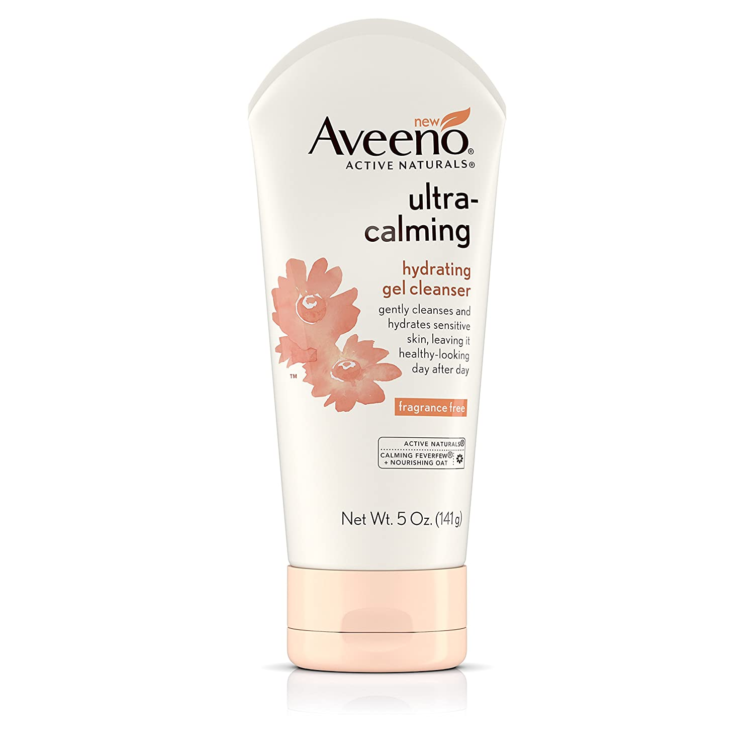 Aveeno Ultra-Calming Hydrating Gel Facial Cleanser for Dry and Sensitive Skin, 5 oz