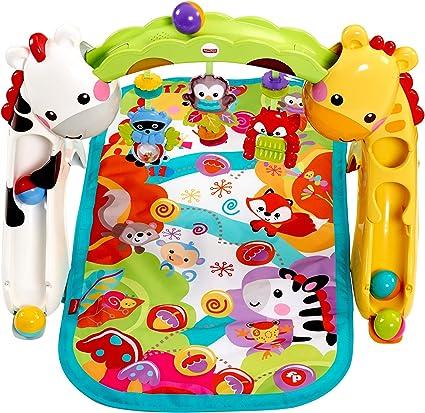 plusieurs couleurs nouvelle arrivée super promotions Fisher-Price Tapis de jeu évolutif musical pour bébé avec plus de 12  activités et jouets, dès la Naissance, CCB70