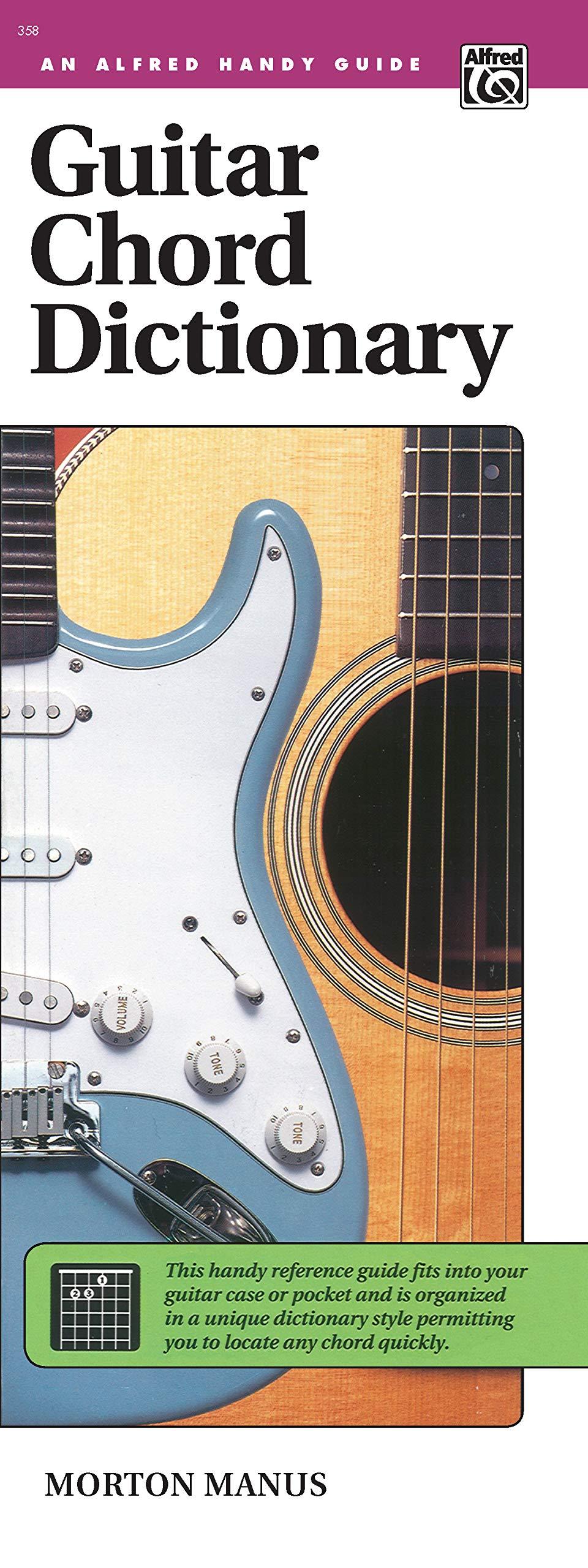 Guitar Chord Dictionary Handy Guide Alfred Handy Guides Manus ...