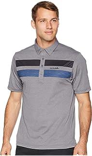 89a1263b0 Amazon.com  Travis Mathew Premium Economy Polo Golf Shirt Black ...
