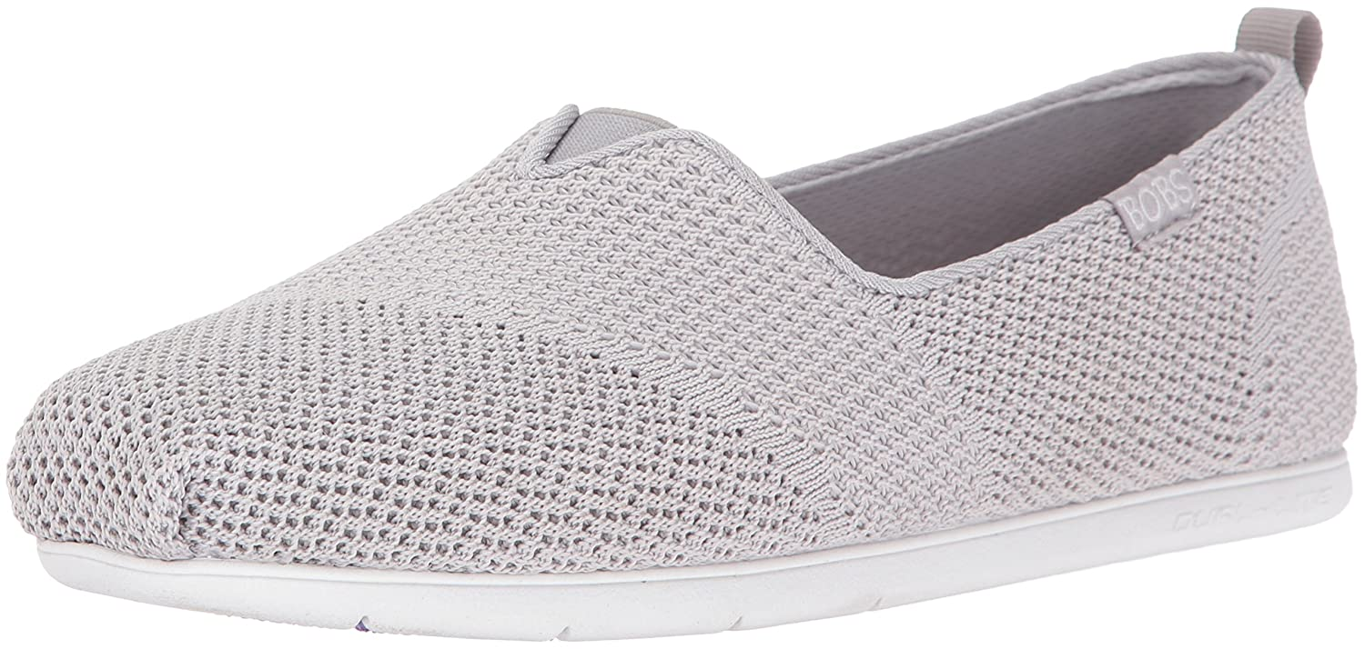 Skechers Bobs Damen Slipper Plush Lite Grau  36 EU