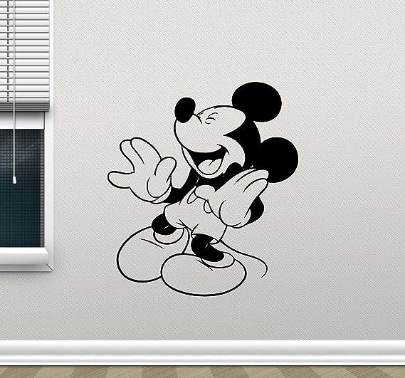 Vinyl Wall Decal Sticker Decor Nursery Mickey Mouse Minnie DIsney Cartoon O165