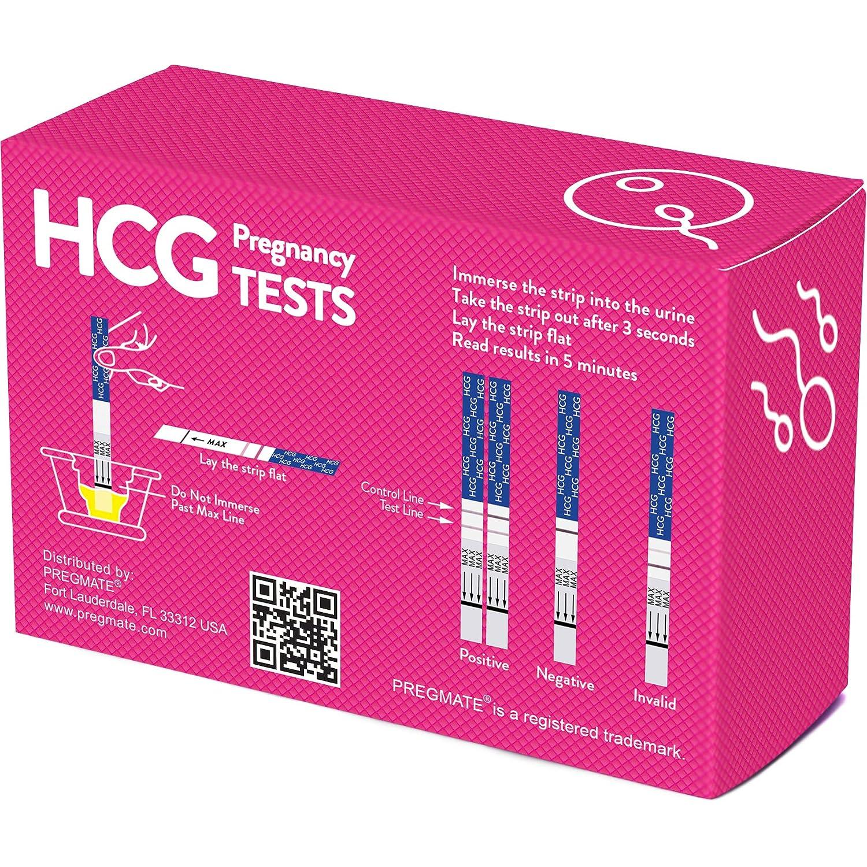 PREGMATE 10 Pregnancy HCG Test Strips (10 HCG)