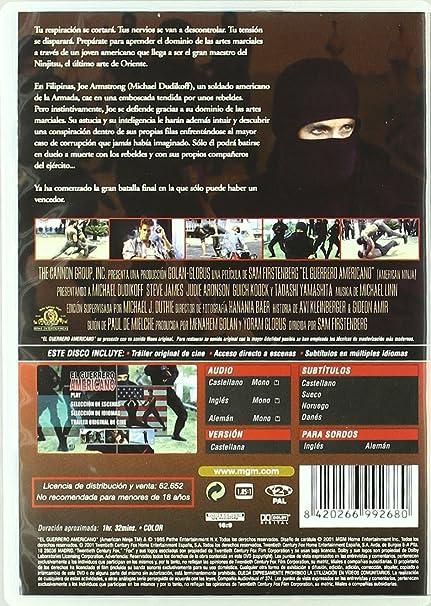 Amazon.com: El Guerrero Americano (Import Movie) (European ...