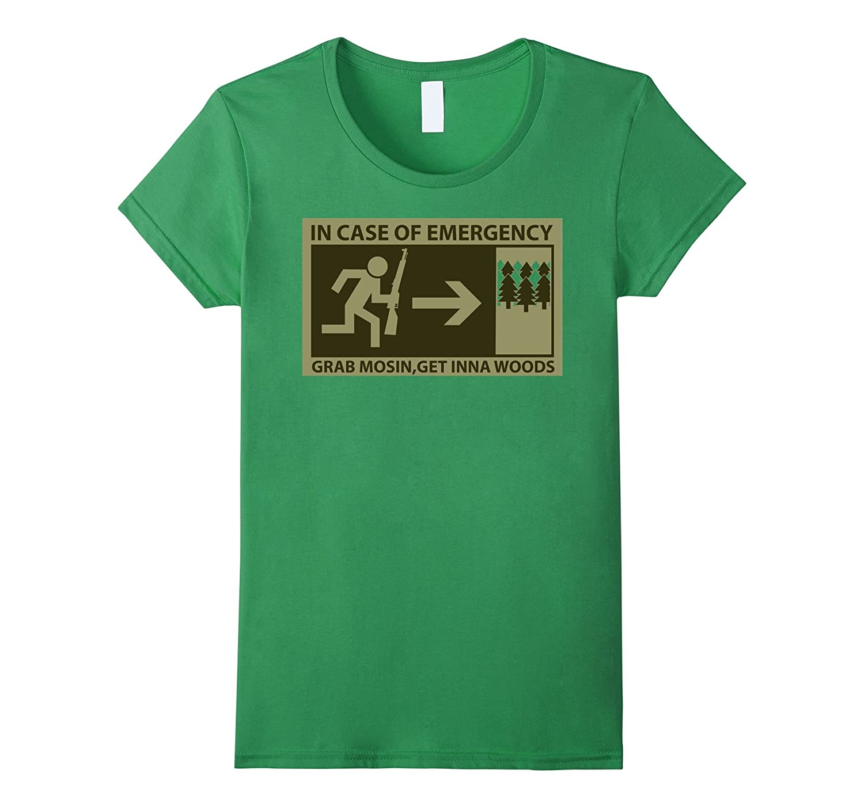 Mosin Woods Shirt T Shirt Asphalt-Awarplus
