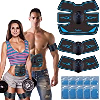 fayleer Electroestimulador Muscular Abdominal Estimulador Muscular Abdominal para Abdomen Cintura Pierna Brazo Glúteos…