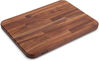 product image for John Boos Block WAL-2317 Blended Walnut Wood Edge Grain Cutting Board with Feet, 23.75 Inches x 17 Inches x 1.5 Inches