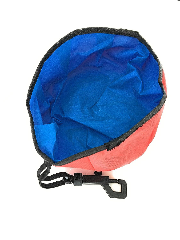 Amazon.com: Cuenco para perro de viaje con bolsas de caca ...