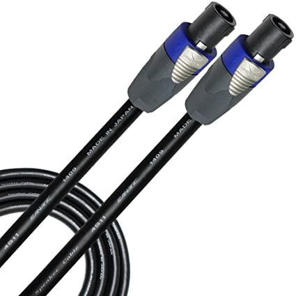 amazon com worlds best cables 12 foot canare 4s11 bi  speakon nl4fx wiring #12