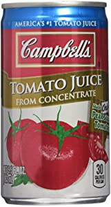 CAMPBELL'S TOMATO JUICE 6 5.5oz 2 pack