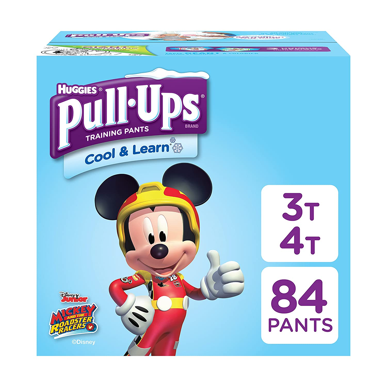 Pull-Ups Cool & Learn Potty Training Pants for Boys, 4T-5T (38-50 lb.), 74 Ct. (Packaging May Vary) 10036000464082