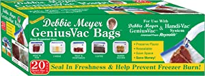 Debbie Meyer GeniusVac Bags, 20 Count Quart