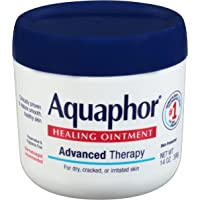 Aquaphor Healing Ointment - Moisturizing Skin Protectant for Dry Cracked Hands, Heels and Elbows, Use After Hand Washing…