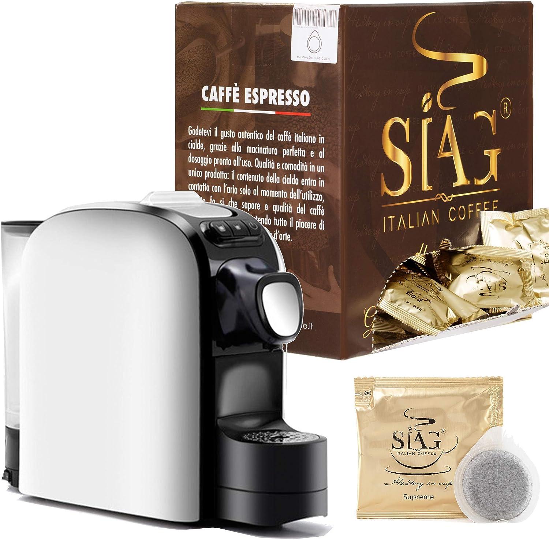 Pack CAFETERA Italiana CÁPSULAS + 150 CAFES Espresso + Kit Servicio: Amazon.es: Hogar
