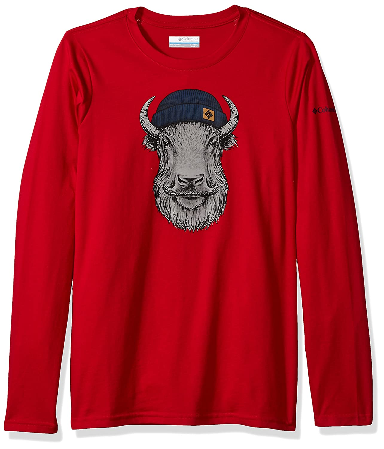 Columbia Boys' Winter Buddy Long Sleeve Tee 1741051-A