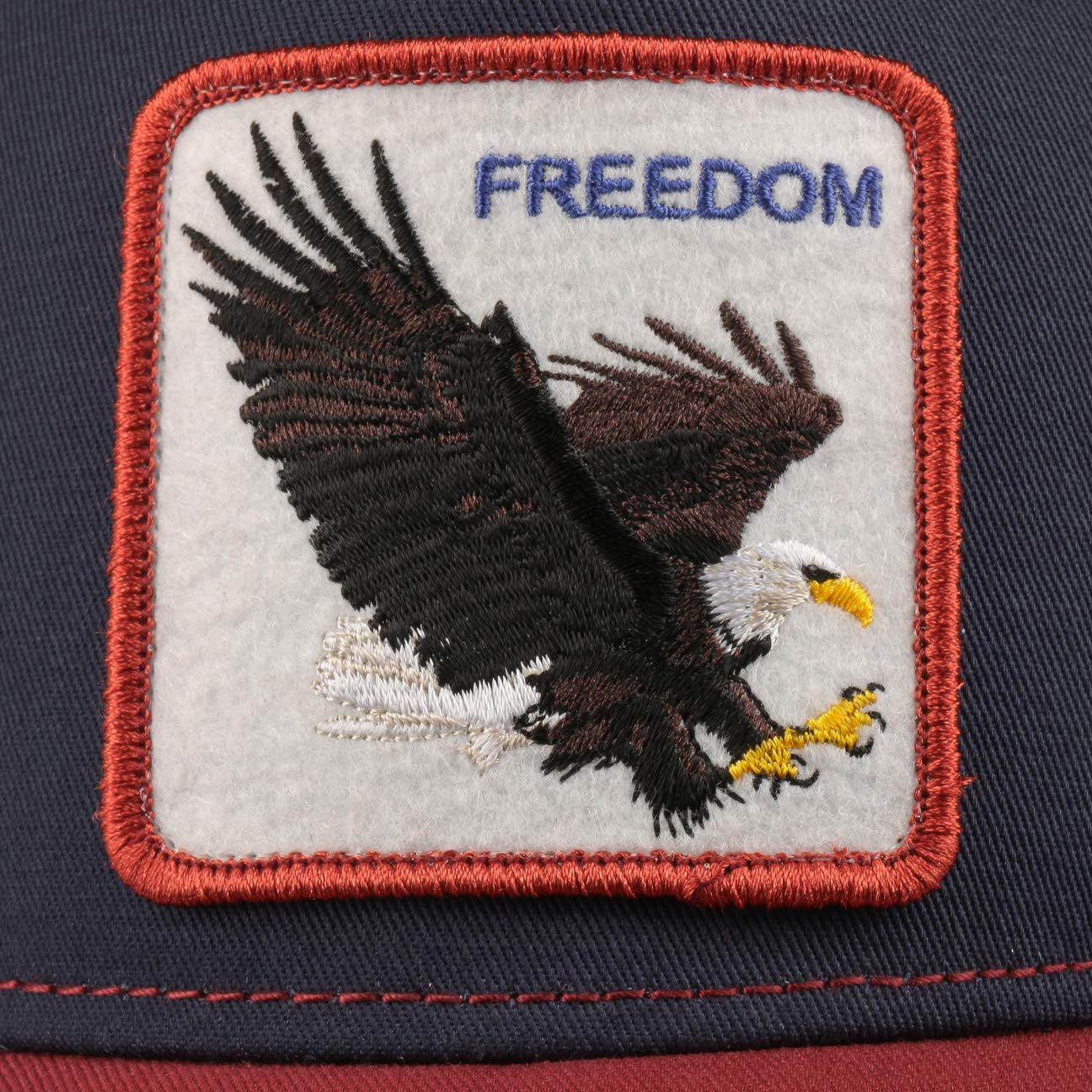 Goorin Bros Cappellino Trucker FreedomBros Mesh cap Curved Brim Baseball