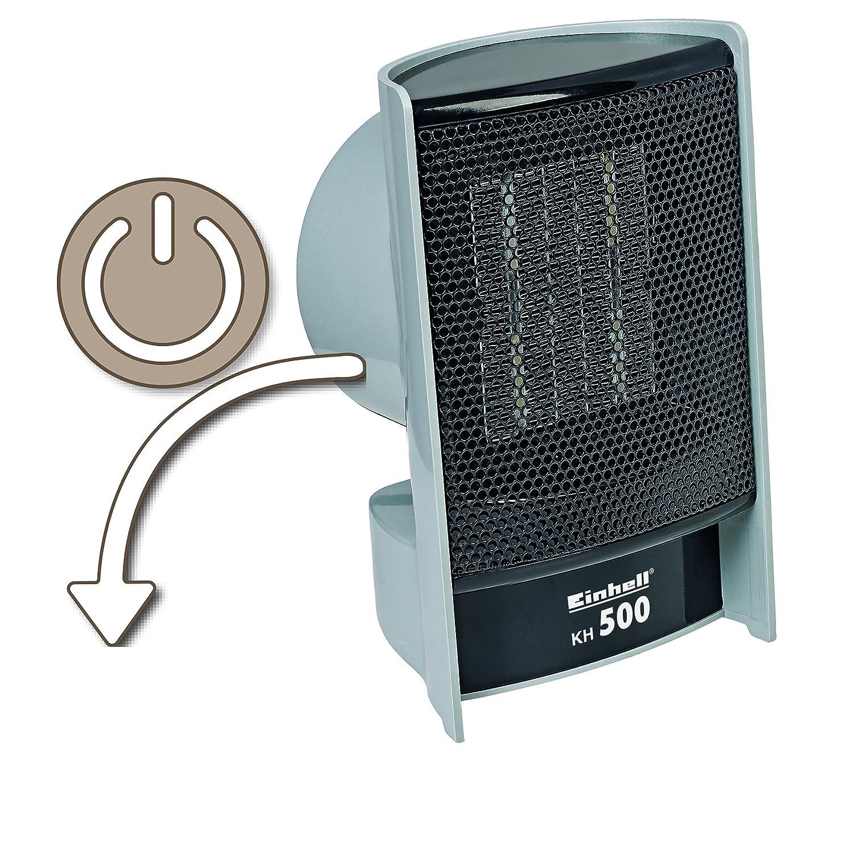 Einhell mit PTC-Heizelement - Kh calentador 500, 500 W: Amazon.es: Bricolaje y herramientas