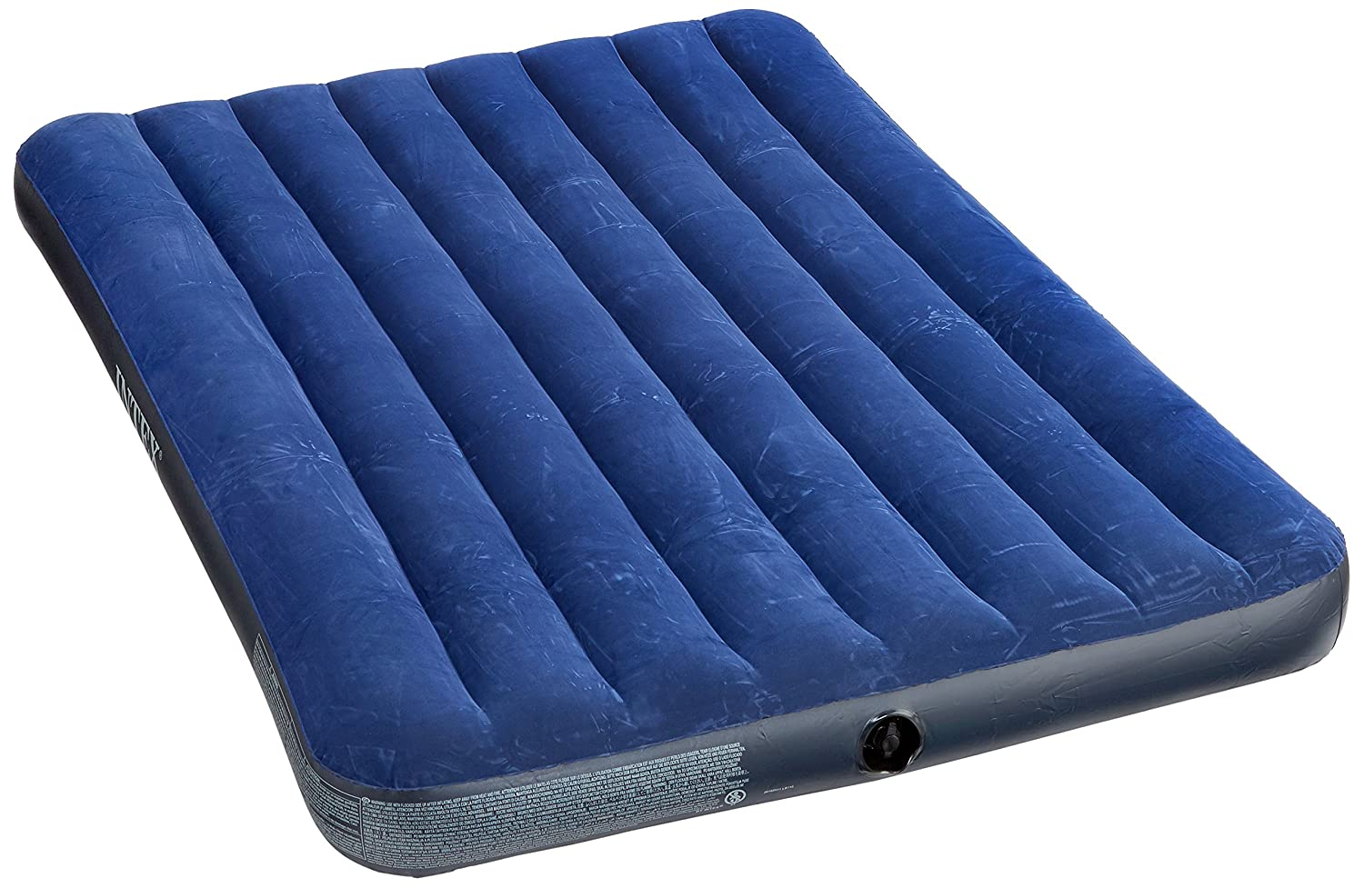 Intex 2-Pers Full Downy Air Bed - Blue, N/A 68758