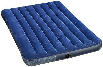 Intex 68758 materasso gonfiabile letto blu: amazon.it: sport e