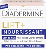 Diadermine - Lift+ Nourrissant - Soin de Nuit Anti-Rides Ultra Fermeté - 50 ml
